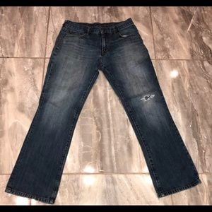 GAP Jeans MENS 33 X 30 JEANS Distressed
